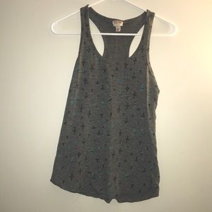 Patterned Tank top | gray
